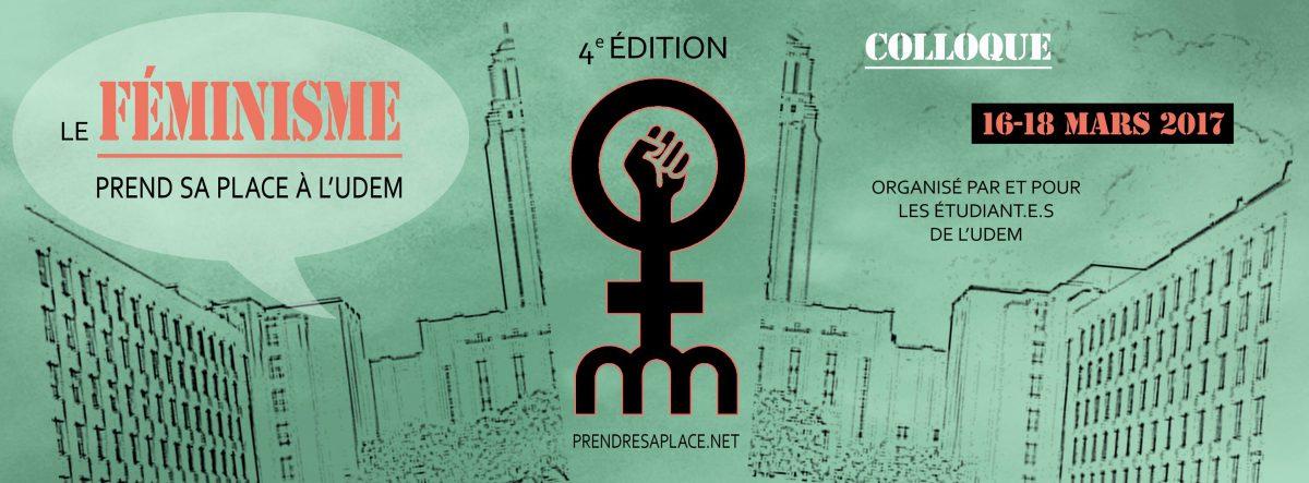 Le féminisme prend sa place à l'UdeM